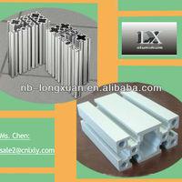 Bottom price custom chamfer edge alluminium profile for architecture