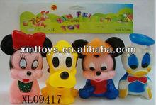 plástico macio mickey mouse