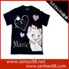 Custom OEM Women T shirts with Printed Design