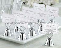 Bell Wedding Favor Place Card Holder