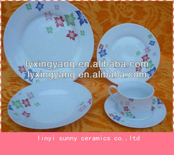 Pretty Pattern tableware porcelain,porcelain dinnerware set wholesale,cheap ceramic dinnerware set