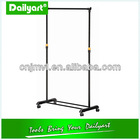 steel pipe folding rotating clothes rack
