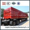 2/3 axles box semi trailer motorcycle tractor trailer