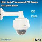 Digital PTZ Camera Mini High Speed Dome Vanderproof Case