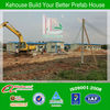 Low Cost Light Steel Modular Prefab Housing For Construction Project