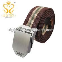 stainless steel paracord bracelet decorative belt fashion metal buckle