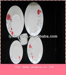 Pretty Pattern tableware ,porcelain dinnerware set wholesale,cheap ceramic dinnerware set
