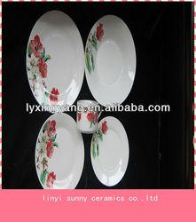 Eco-friendly dinner set porcelain, wholesale dinner set ceramic manufacture,Luxury dinner set
