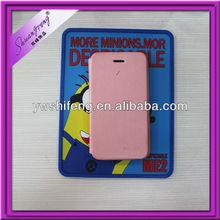 Hot sale Despicable Me2 soft rubber mobile phone anti-slip mat