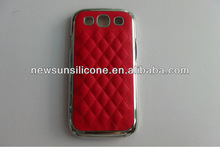 PC +PU Leather Phone Cover for samsung s3 i9300