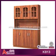 European classic modern 6 door wooden kitchen cabinet john