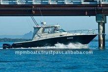 New 12 Meter Fiberglass Luxury Fishing Boat