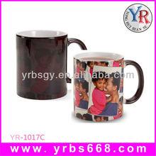 11 oz heat transfer sublimation color change mug magic photo mug price shenzhen manufacturer