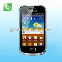 Newest for Samsung Galaxy mini 2 screen film, high quality clear screen film for S6500