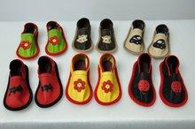 NEW 2012 Children Kids Girls Boys Slippers for school, homme 100% Genue leather