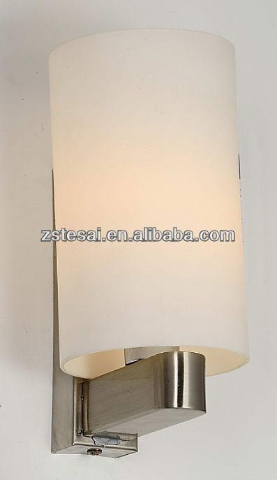 Venda quente de vidro arandelas de parede para hotéis mb3304-1