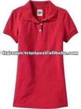 Womens Cotton Plain Polo Shirts Short Sleeveless
