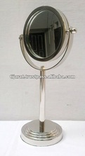 Table Mirror with Folding metal stand