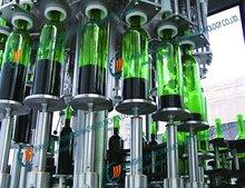 bottle washing filling capping machine,automatic filling sealing machine