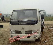 Mini Fuel Delivery Truck Mobile Dispenser Gas Station 5CBM