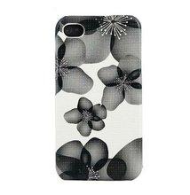 IMD Case for Iphone 4G/4S Flower Magic in Black /04