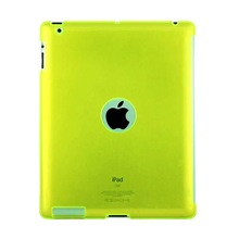 Crystal Case with hole for I-Pad 3 Green