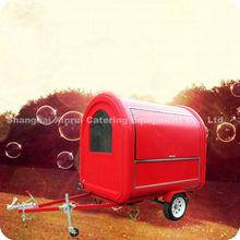 2013 New Design Mobile Electric Fast Food Hand Vending Kitchen Van Cart XR-FC220 B