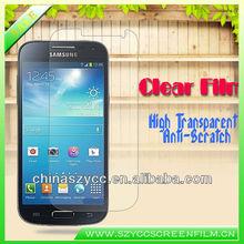 Cheap Price Ultra Anti-scratch High Clear Screen Cover For Samsung Galaxy S4 mini