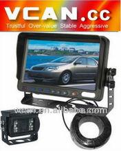 "7 ""tft lcd camera monitor with Waterproof IR Color CCD Camera"