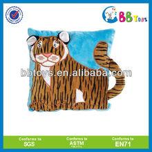 2013 hot sale pillow chair stuffed & plush animal/ Plush tiger pillow