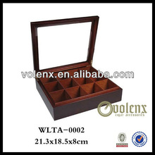 Shenzhen Carved Wooden Tea Boxes/Display Case (SGS&BV)