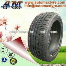 Borracha sem câmara pneus de carro 205 / 45R17 para Dubai