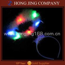 Multistage flash Multicolor LED Flashing Angel Halo Headband