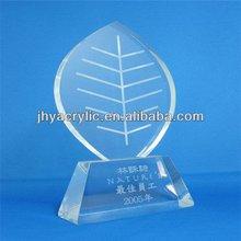 Innovative customized custom made trophy glass