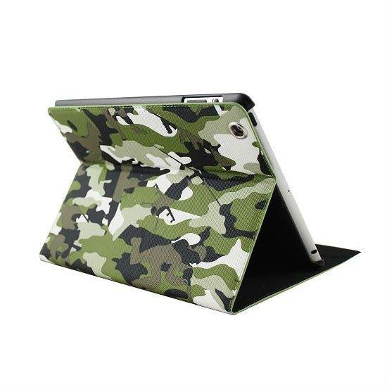 Wallet Case for ipad 2 My BattleField White Black Green