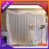 ESI telescopic event drapery rods or wedding white backdrop rods