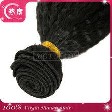 Cabelo Humano Barato Cabelo Organico 100% Brazilian Cheap Yaki Straight Hair