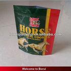 2013 plastic horse food bag/stand up pet good bag with zipper