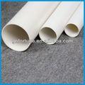 Alta qualidade branco / colorido tubo de pvc reciclado