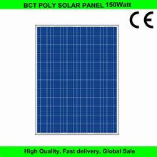 150w best price solar module poly solar panel