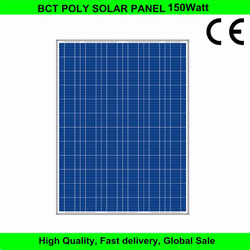 150w best price solar module poly solar panel