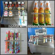 [patent machine]Fruit Long Life Yogurt plastic bag/tube/sachet liquid filling sealing packing machine
