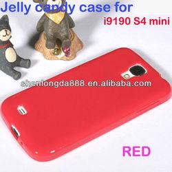 Soft Jel case cover for samsung galaxy s4 mini i9190