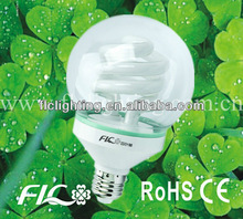 High Power 40W Half Spiral Ball bubble Energy Saver
