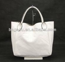 White Fashion PU Leather Women Bags New Model Purses and Ladies Handbags