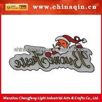glitter hang slogans for christmas