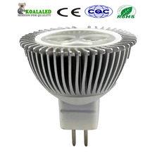 High lumin mr16/gu5.3 led spot light cree for commercial