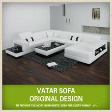 VATAR modern design sectional sofa leather romania