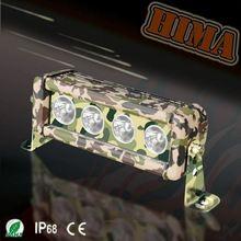 40w Camo Led Light Bar jeep coats off road helmets