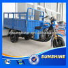 2013 New Attractive cabin tricycle with sunshade